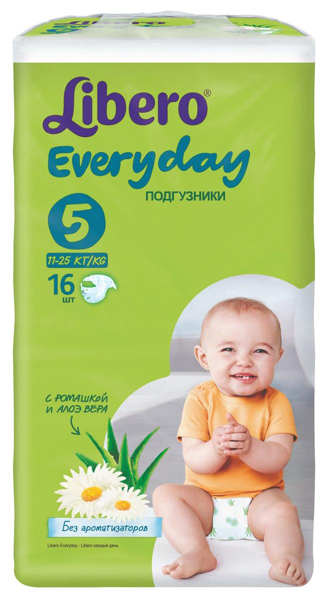 Libero Подгузники Everyday (11-25 кг) 16 шт5373