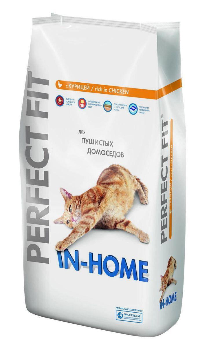 Корм сухой Perfect Fit In-Home для домашних кошек, с курицей, 3 кг29016Сухой корм Perfect Fit In-Home создан специально для поддержания жизненного тонуса и хорошего самочувствия домашних лежебок. Особенности сухого корма Perfect Fit: - содержит натуральную клетчатку, помогающую контролировать образование комочков шерсти в организме кошки; - специальная рецептура позволяет снизить потребление калорий в каждом кормлении; - способствует поддержанию здоровой кожи и блестящей шерсти благодаря содержанию биотина, цинка и омега-6 кислот; - содержит экстракт Юкки Шидигера, помогающий уменьшить запах кошачьего туалета; - не содержит ароматизаторов, красителей и консервантов. Состав: высушенная мука из птицы (включая 22% курицы), кукурузный белок, высушенный животный белок, кукуруза, кукурузная мука, животный жир, рис, целлюлоза, высушенная печень, сухая свекла, дрожжи, хлорид калия, рыбий жир, экстракт юкки. Пищевая ценность в 100 г: белки - 41 г, жиры - 14,5 г, зола - 8 г, клетчатка -...