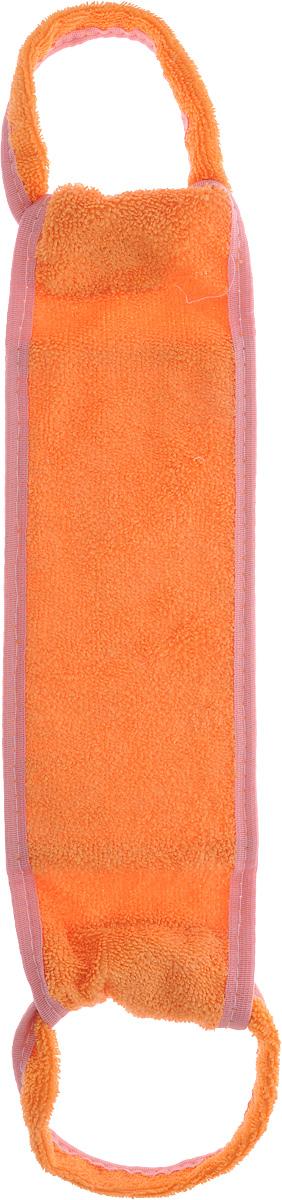 Мочалка для тела Мелисса, из люфы, цвет: оранжевый4. 9Мочалка Мелисса изготовлена из хлопка. Предназначена для самого нежного мытья. Основа мочалки состоит из натурального продукта - Люфа. Губка из высушенной волокнистой массы плодов этого южного растения оказывает на кожу благоприятный оздоровительный эффект. Люфа находится в спрессованном состоянии, поэтому перед первым применением размочите ее в горячей воде. можно использовать как с мылом, так и без него.