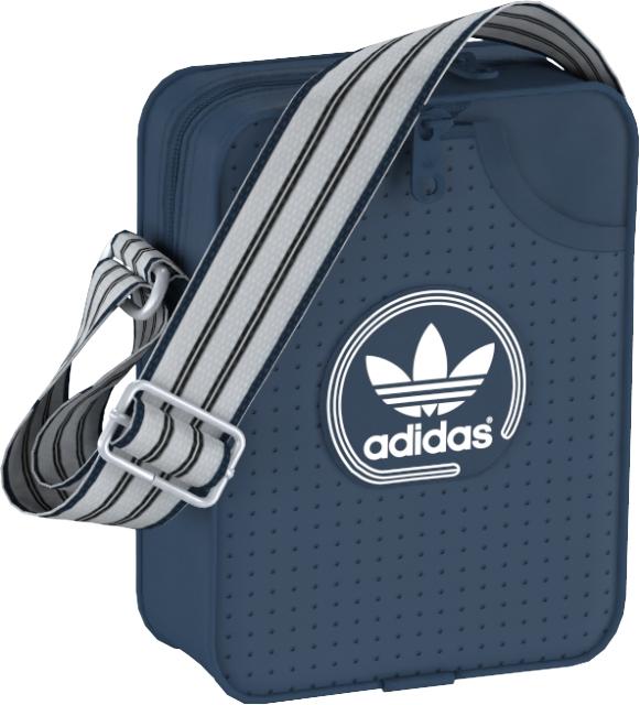 Сумка на плечо adidas MINI BAG PERF, цвет: синий. AJ8394
