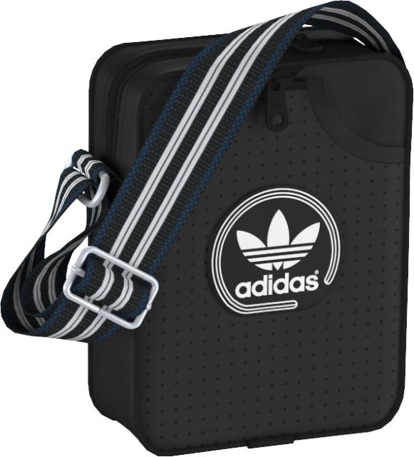 Сумка на плечо adidas MINI BAG PERF, цвет: черный. AJ8393AJ8393Классическая сумка в винтажном стиле из искусственной кожи с декоративной перфорацией. С регулируемым наплечным ремнем. В объемное основное отделение с внутренним органайзером поместится все необходимое. Размеры: 6x15x20 см; Объем: 5л. Основное отделение на молнии; плоский передний карман; внутренний органайзер. Регулируемый наплечный ремень; металлическая фурнитура. Перфорированные три полоски. Наклонные логотип adidas и трилистник спереди.