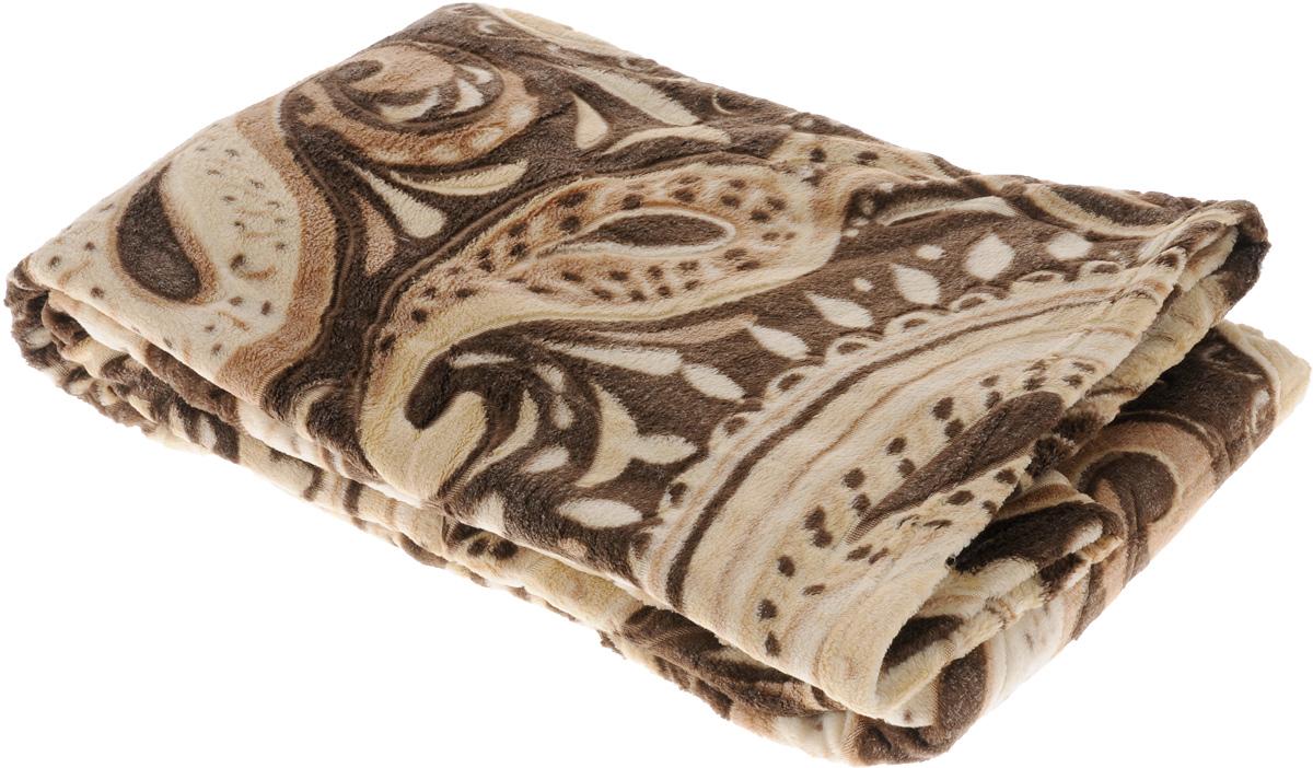 Плед Buenas Noches Bamboo, цвет: коричневый, бежевый, 150 х 200 см. 6953769537_коричневыйПлед Buenas Noches Bamboo - идеальное решение для вашего интерьера. Он порадует вас легкостью, нежностью и оригинальным дизайном. Плед выполнен из 100% полиэстера и декорирован оригинальным орнаментом. Полиэстер считается одной из самых популярных тканей. Это материал синтетического происхождения из полиэфирных волокон. Изделия из полиэстера не мнутся и легко стираются. После стирки очень быстро высыхают. Плед - это такой подарок, который будет всегда актуален, особенно для ваших родных и близких, ведь вы дарите им частичку своего тепла!
