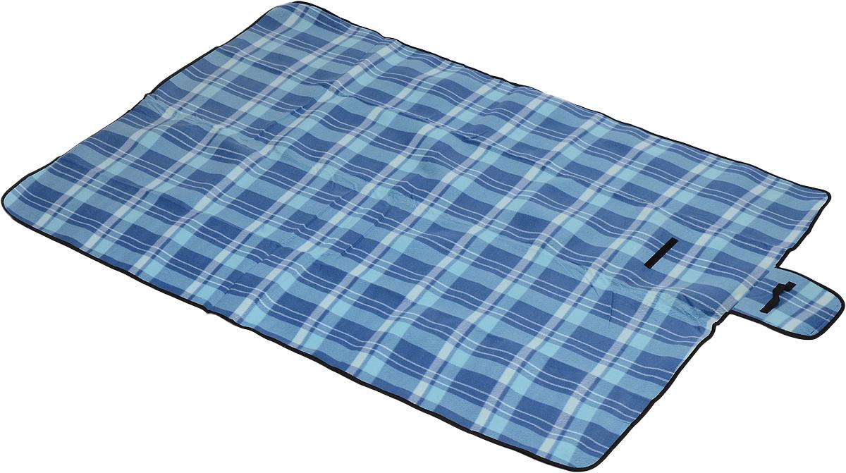 Коврик для пикника Wildman Флиппер, цвет: голубой, синий, 150 х 200 см81-394_голубой, синий, клеткаКоврик для пикника Wildman Флиппер, выполненный из хлопка и полимерных материалов, позволит полноценно отдохнуть на природе. Он легкий, не занимает много места и прекрасно изолирует человеческое тело от холода и влаги. Мягкая поверхность коврика защищает от неровностей почвы, поэтому туристам, имеющим такую подстилку, гарантирован, кроме удобного отдыха, еще и комфортный сон.