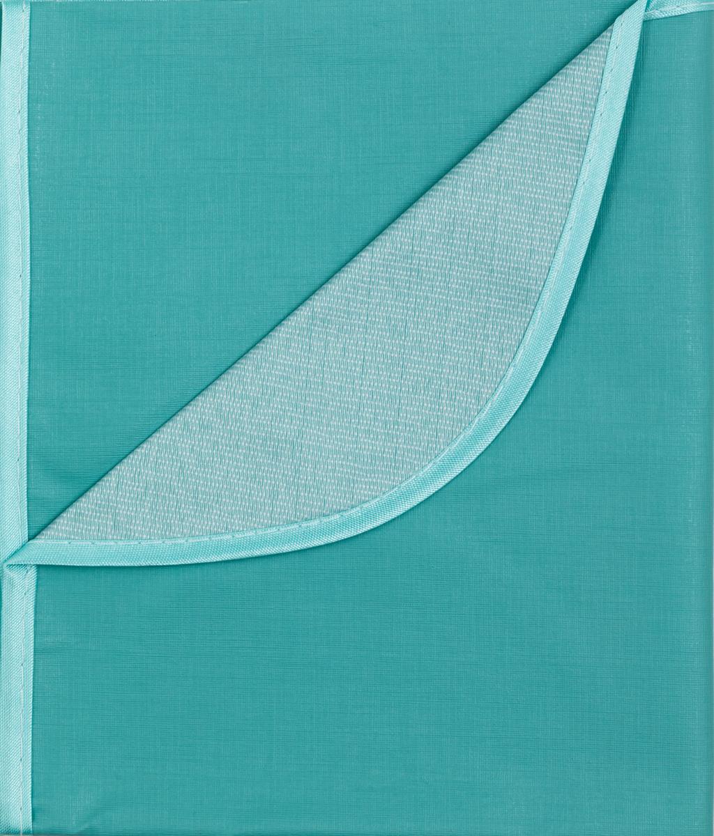 Колорит Клеенка подкладная с окантовкой цвет бледно-зеленый 70 х 100 см0057_зеленыйКлеенка подкладная с ПВХ покрытием Колорит, окантованная по краям тесьмой, предназначена для санитарно-гигиенических целей в качестве подкладного материала в медицинской практике и в домашних условиях. ПВХ покрытие влагонепроницаемо и обладает эффектом теплоотдачи, что исключает эффект холодного прикосновения. Микропористая структура поливинилхлоридного покрытия способствует профилактике пролежней и трофических проявлений. Клеенка окантована текстильной тесьмой, что помогает надолго сохранить опрятный внешний вид.