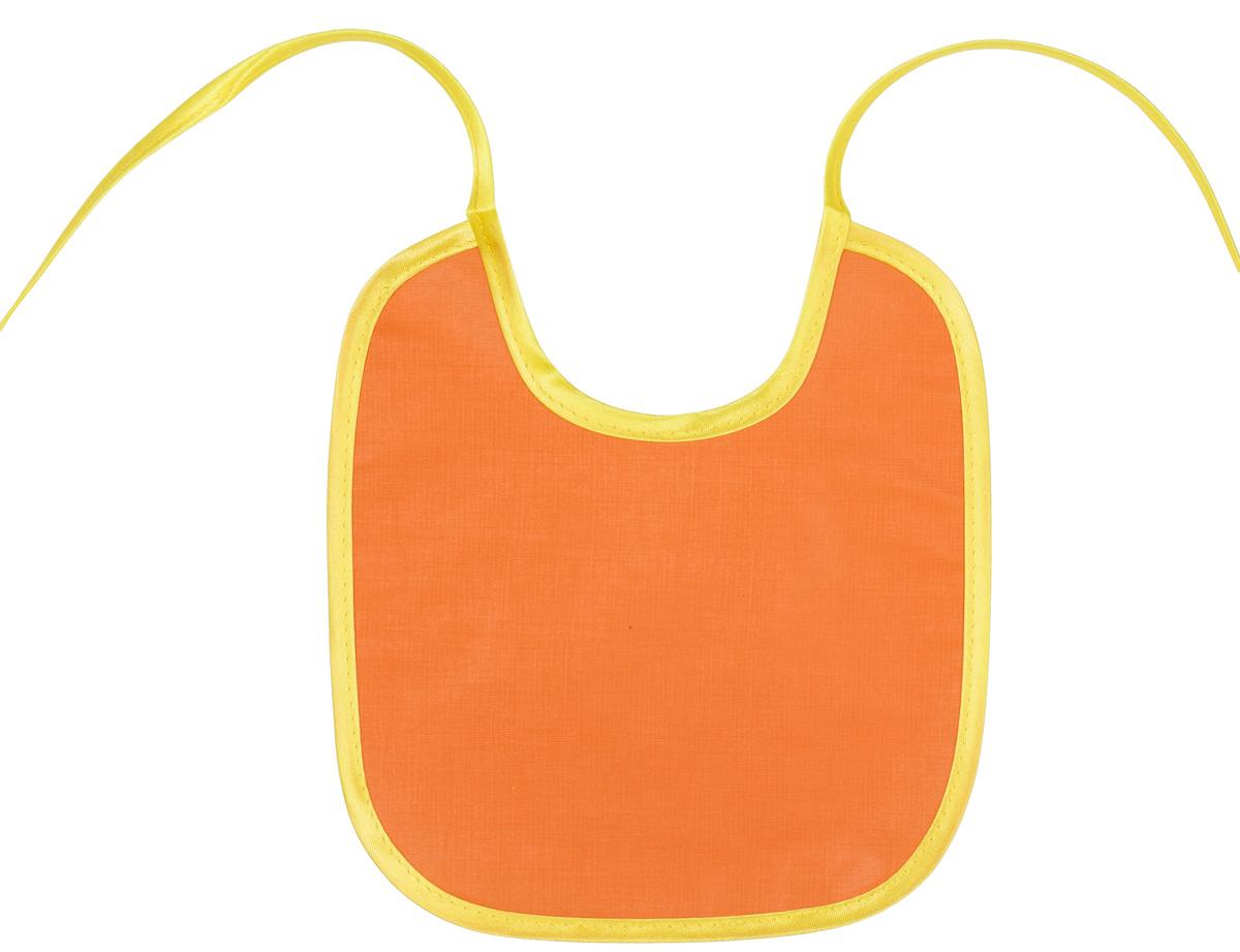 Колорит Нагрудник защитный 20 см х 22 см цвет оранжевый0066_оранжевыйЗащищает одежду, не промокает.