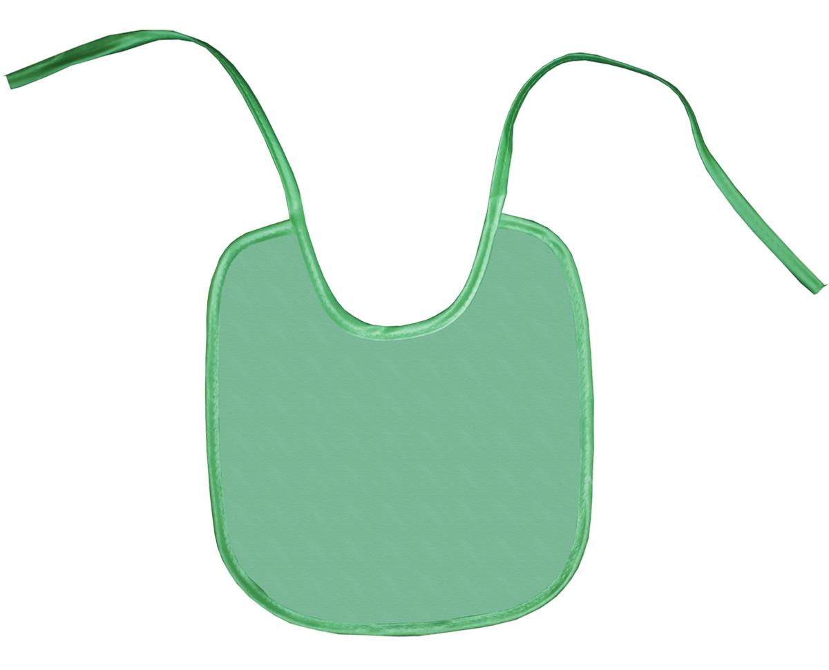 Колорит Нагрудник защитный 20 см х 22 см цвет зеленый