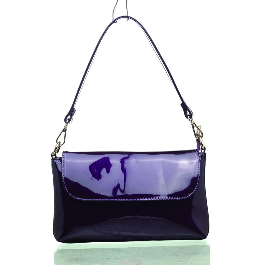 Клатч женский OrsOro, цвет: фиолетовый. D-204/7D-204/7Сумка - клатч с одним отделением на молнии, задним карманом на молнии, внутренним карманом на молнии и карманом для телефона. Регулируемый плечевой ремень и клапан на магнитной кнопке.