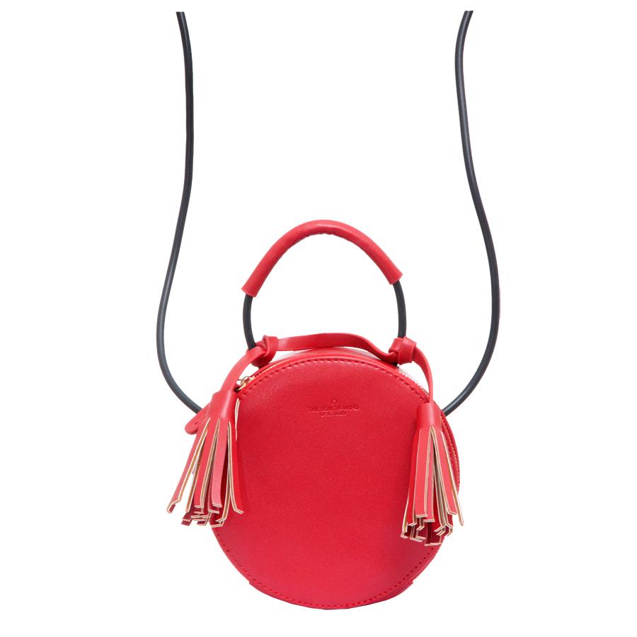 Сумка женская OrsOro, цвет: красный. D-210/13D-210/13Сумка с одним отделением, внутренний карман