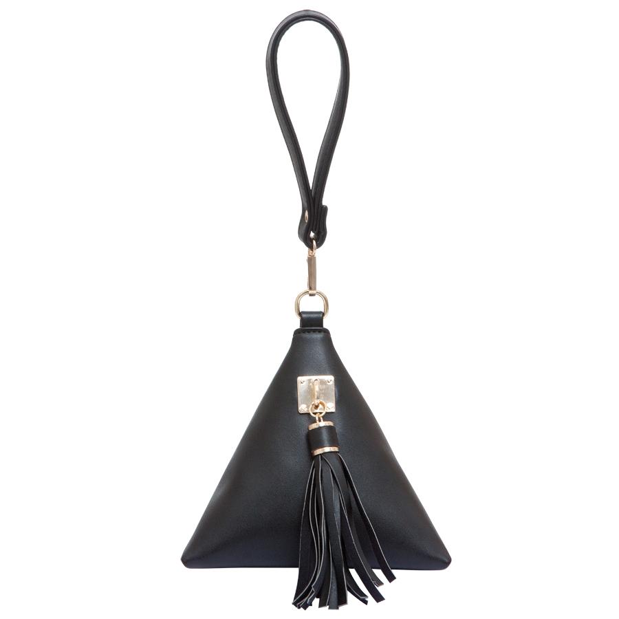 Сумка женская OrsOro, цвет: черный. D-211/1D-211/1Сумка на молнии с одним отделением. Внутренний карман на молнии, карман для телефона, задний карман на молнии