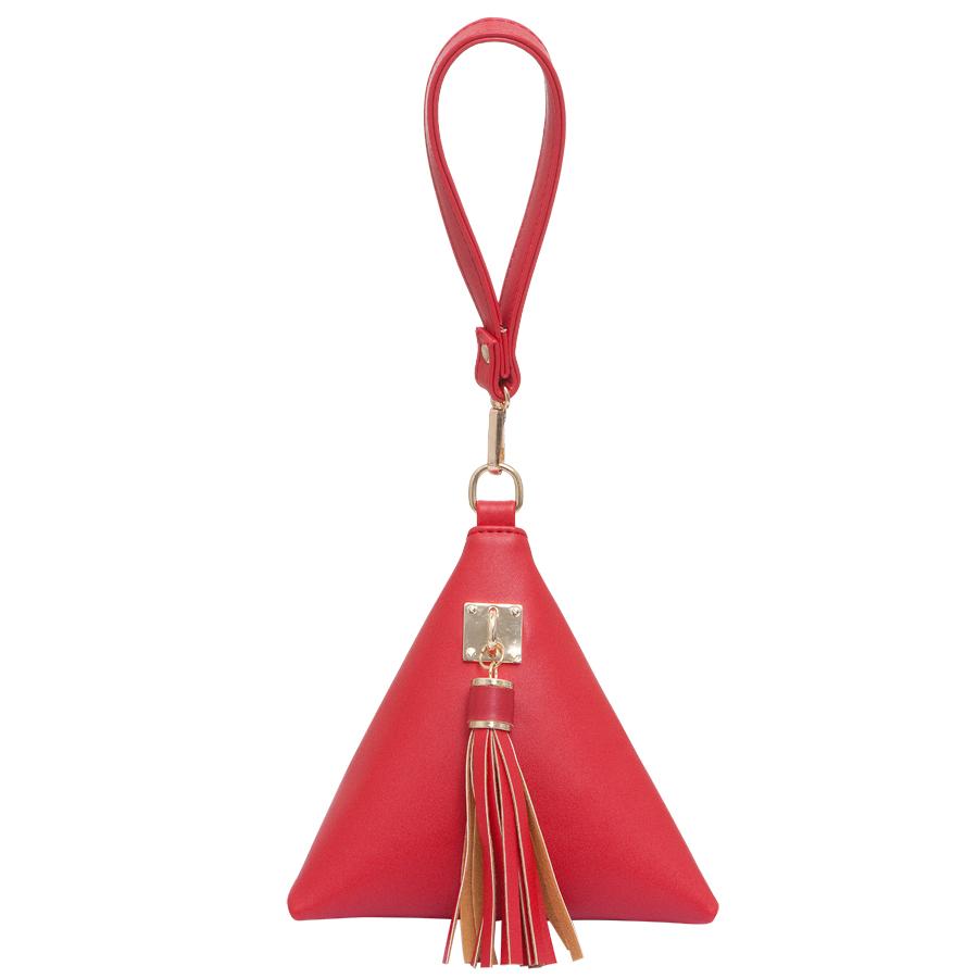 Сумка женская OrsOro, цвет: красный. D-211/13D-211/13Сумка на молнии с одним отделением. Внутренний карман на молнии, карман для телефона, задний карман на молнии