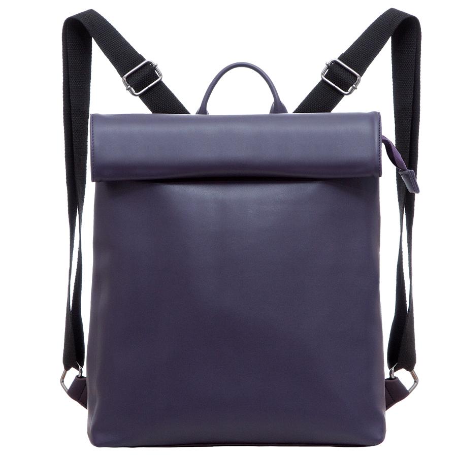 Сумка женская OrsOro, цвет: фиолетовый. D-212/7D-212/7Рюкзак с раскладывающимся клапаном, одним отделением на молнии, два внутренних кармана один из них на молнии, карман для телефона, задний карман на молнии.