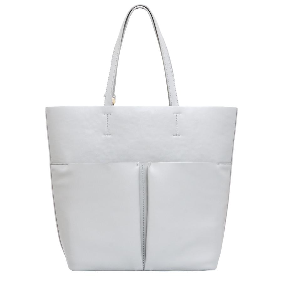 Сумка женская OrsOro, цвет: светло-серый. D-215/15D-215/15Сумка с одним отделением, двумя объемными передними карманами и дополнительной сумкой-органайзером на молнии, с внутренним карманом на молнии и карманом для телефона