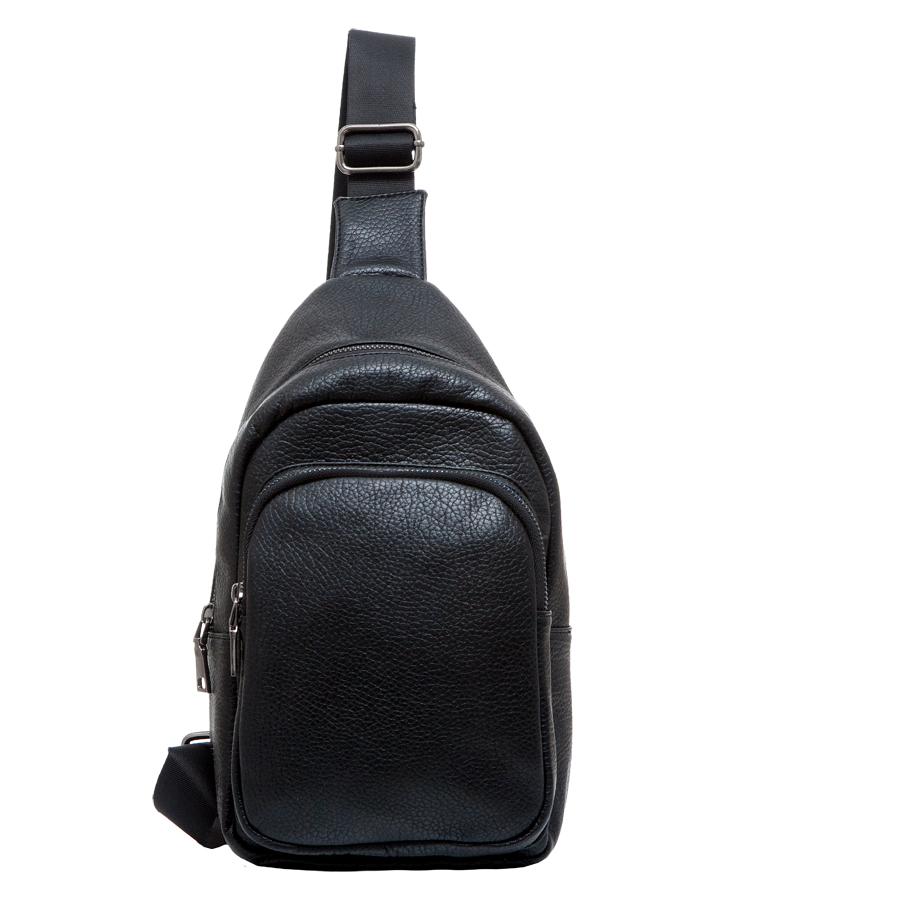 Сумка мужская OrsOro, цвет: черный. D-232/1D-232/1Практичная сумка OrsOro выполнена из искусственной кожи. Внутри основное отделение на застежке-молнии, которое содержит один накладной карман для телефона. На передней стороне располагается накладной карман на молнии. Сумка оснащена плечевым ремнем, который регулируется по длине.