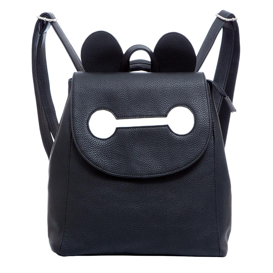 Рюкзак женский OrsOro, цвет: черный. D-246/29D-246/29Рюкзак с клапаном, одно отделение, передний карман на кнопке, два внутренних кармана на молнии, карман для телефона, задний карман на молнии.