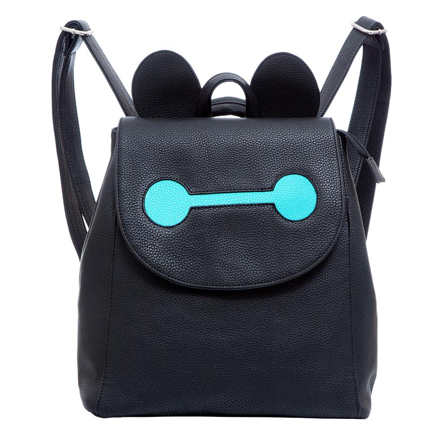 Рюкзак женский OrsOro, цвет: черный. D-246/31D-246/31Рюкзак с клапаном, одно отделение, передний карман на кнопке, два внутренних кармана на молнии, карман для телефона, задний карман на молнии.