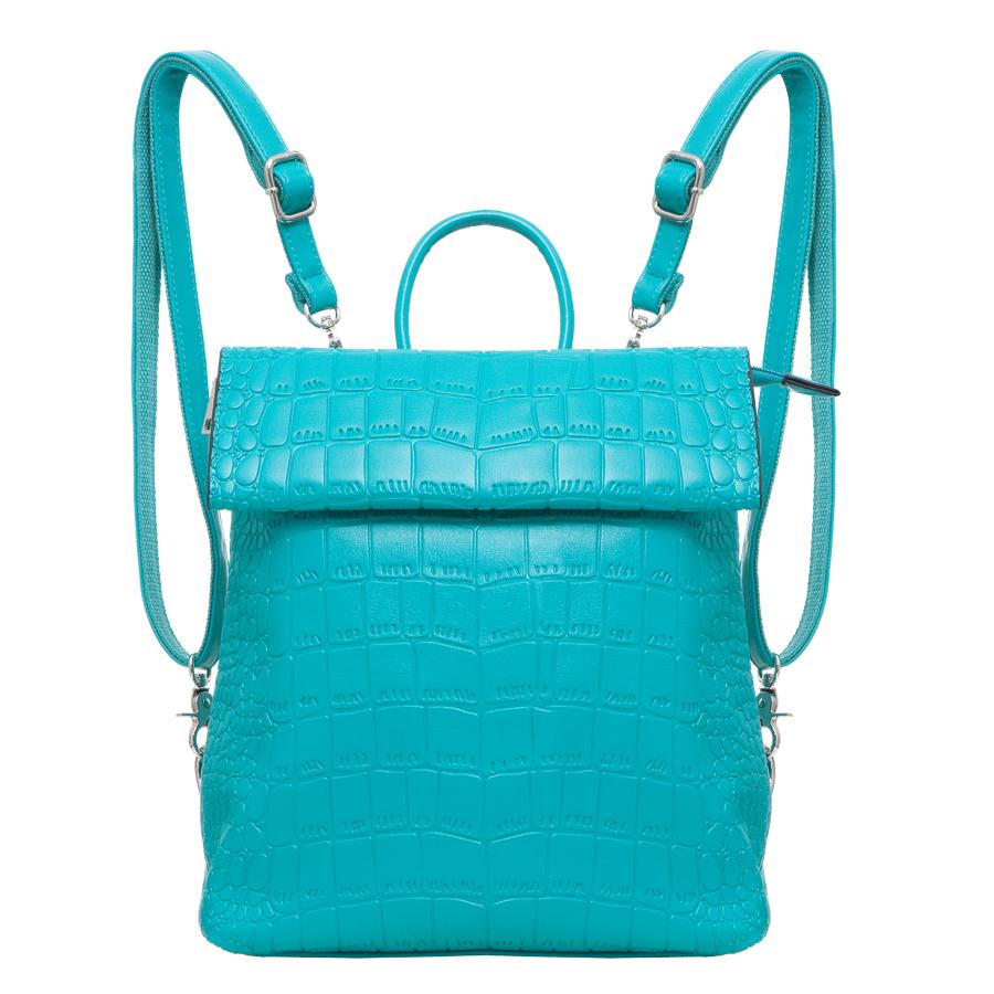 Рюкзак женский OrsOro, цвет: бирюзовый. D-247/6