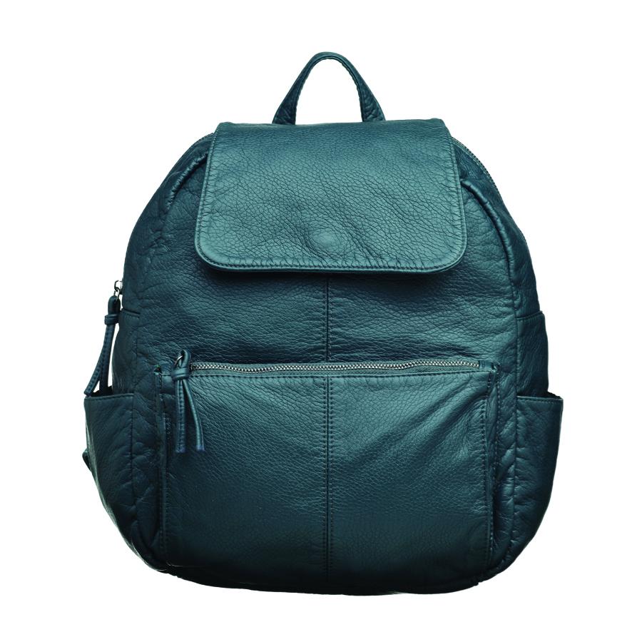 Рюкзак женский OrsOro, цвет: синий. D-251/2