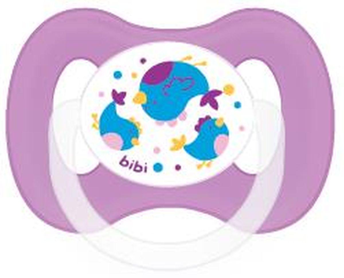 Bibi Пустышка Natural Basic Care силиконовая Коллекция №2 0-6 месяцев112837