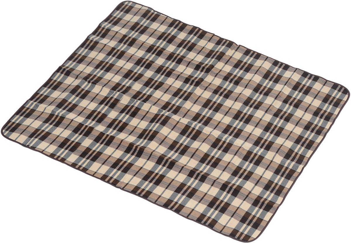 Коврик для пикника Wildman Виши, цвет: коричневый, 180 х 150 см81-393_коричневый, клеткаКоврик для пикника Wildman Виши, выполненный из хлопка и полимерных материалов, позволит полноценно отдохнуть на природе. Он легкий, не занимает много места и прекрасно изолирует человеческое тело от холода и влаги. Мягкая поверхность коврика защищает от неровностей почвы, поэтому туристам, имеющим такую подстилку, гарантирован, кроме удобного отдыха, еще и комфортный сон.