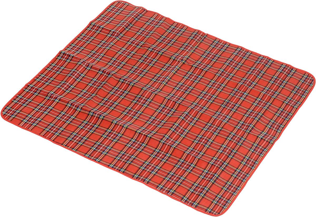 Коврик для пикника Wildman Виши, цвет: красный, 130 х 150 см81-392_красныйКоврик для пикника Wildman Виши, выполненный из хлопка и полимерных материалов, позволит полноценно отдохнуть на природе. Он легкий, не занимает много места и прекрасно изолирует человеческое тело от холода и влаги. Мягкая поверхность коврика защищает от неровностей почвы, поэтому туристам, имеющим такую подстилку, гарантирован, кроме удобного отдыха, еще и комфортный сон.