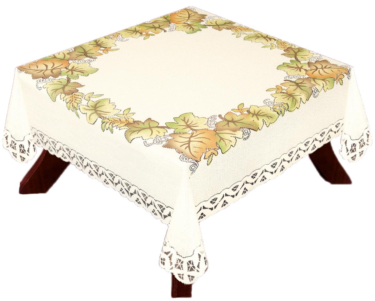 Скатерть Haft, квадратная, 140 х 140 см33442/140Скатерть выполнена в европейском стиле, жаккардовое плетение.
