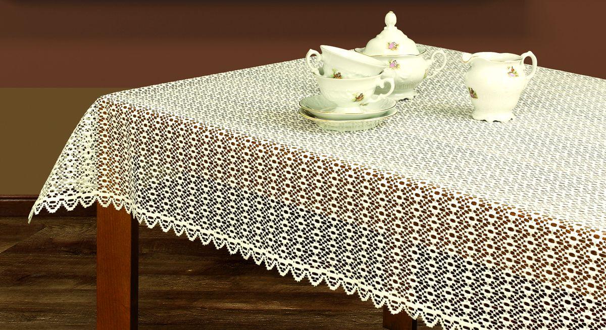 Скатерть Haft, прямоугольная, цвет: кремовый, 100 х 150 см209560/100Скатерть выполнена в европейском стиле, жаккардовое плетение.
