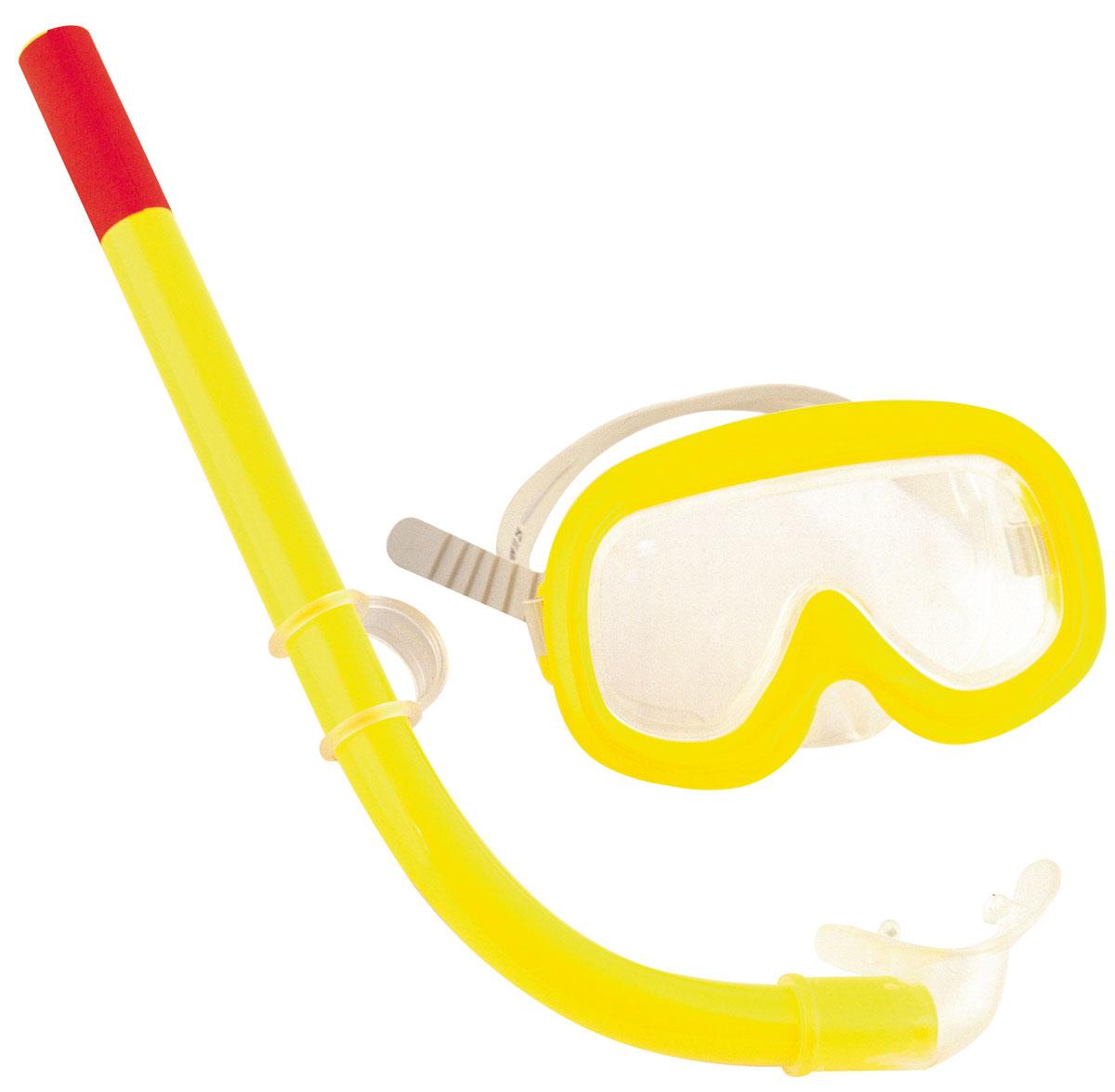 Детский набор для ныряния Bestway Sun. 2400624006Детский набор для ныряния Bestway Sun предназначен для малышей в возрасте от 3 до 6 лет. В комплект входит удобная маска, обеспечивающая хороший обзор и прочное крепление, и трубка со специальным стандартным изгибом, надежно предотвращающая попадание воды. С таким набором вы можете быть спокойны за безопасность ребенка, изучающего подводный мир. Гарантией качества, удобства и прочности этого набора является его известный производитель Bestway. Этот бренд, появившийся еще в 1993 году, зарекомендовал себя на рынке как изготовитель первоклассных изделий для активного отдыха.