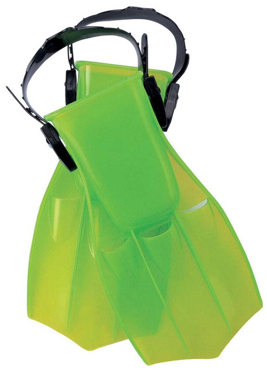 Ласты для плавания детские Bestway Ocean Diver, размер 34/38. 2701227012Детский ласты для плавания Bestway Ocean Diver - отличный вариант для активного отдыха и увлекательных исследований подводного мира. Плавание в ластах позволяет улучшить положение тела в воде, увеличить скорость, силу ног и гибкость суставов. Ласты Ocean Diver фиксируются с помощью крепежного ремешка на пятке, который позволяет регулировать размер от 34 до 38.