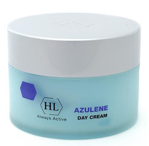 Holy Land Дневной крем для лица Azulen Day Cream, 250 мл101053Легкий ухаживающий крем, который легко ложится на кожу, быстро впитывается и не оставляет жирных следов. Продукт подходит для использования в любой сезон. Активно защищает кожу, увлажняет, снимает раздражение и чувствительность. Помогает коже прийти в норму после пилингов, ожогов и обветривания. Препятствует расширению капилляров.