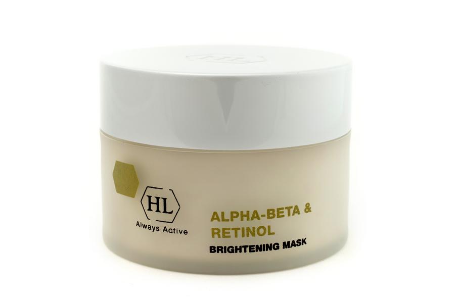 Holy Land Осветляющая маска Alpha-Beta and Retinol Brightening Mask, 50 мл111087Уникальная маска тройного действия для всех типов кожи: лифтинг + сокращение пор + пилинг. Помимо активных компонентов линии содержит лимонный сок, каолин, бисаболол, пантенол.Действие:Хорошо очищает кожу и отшелушивает роговые клетки.Способствует обновлению эпидермиса.Выравнивает поверхность и цвет кожи, осветляет кожу.Сокращает поры. Успокаивает и смягчает кожу. Активные компоненты: Лимонный сок ускоряет процесс отшелушивания клеток рогового слоя и обновления эпи-дермиса, усиливает микроциркуляцию, восстанавливает поврежденную кожу и укрепляет стенки капилляров. Регулирует рН кожи, оказывает антиоксидантное, антисептическое и противовоспалительное действие. Контролирует выделение себума, стягивает поры, отбеливает кожу. Замедляет старение, разглаживает поверхностные морщины, повышает тонус кожи, улучшает цвет лица.Каолин обладает отшелушивающим и сокращающим действием, абсорбирует загрязнения и излишки кожного жира, стягивает поры, уменьшает раздражение.Пантенол (провитамин В5)...