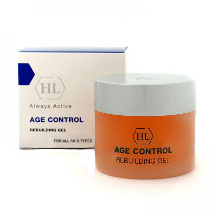 Holy Land Восстанавливающий гель Age Control Rebuilding Gel, 50 мл112507Восстанавливающий гель, заметно подтягивающий кожу.Действие:Обеспечивает глубокое увлажнение.Уменьшает глубину морщин.Обладает заметным подтягивающим действием.Ускоряет регенерацию и заживление повреждений.Укрепляет кожу, повышает ее тонус.Значительно повышает эффект действия обновляющего крема.Активные компоненты: Экстракт бурых водорослей Macrocystis Pyrifera, гидролизованные пшеничные протеины, гидролизованные соевые протеины, гель алоэ, лизат бифидоферментов, экстракт семян Camellia Oleifera, экстракт красного клевера.