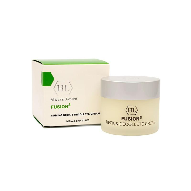 Holy Land Крем для шеи и декольте Fusion Firming Neck and Decolette Cream, 50 мл137067Удивительно приятный крем обладает укрепляющим, подтягивающим и лифтинговым действием, а также интенсивно увлажняет кожу, делает ее гладкой и упругой. Благодаря содержанию арбутина и койевой кислоты, крем осветляет пигментацию в области шеи и декольте. Активные компоненты: Масло мурумуру, масло купуасу, оливковое масло, соевое масло, масло рисовых отрубей, арбутин, масло акай, кальций, гидролизованные растительные протеины и аминокислоты (серин, аргинин, пролин), витамины А, Е, F, Н, койевая кислота.