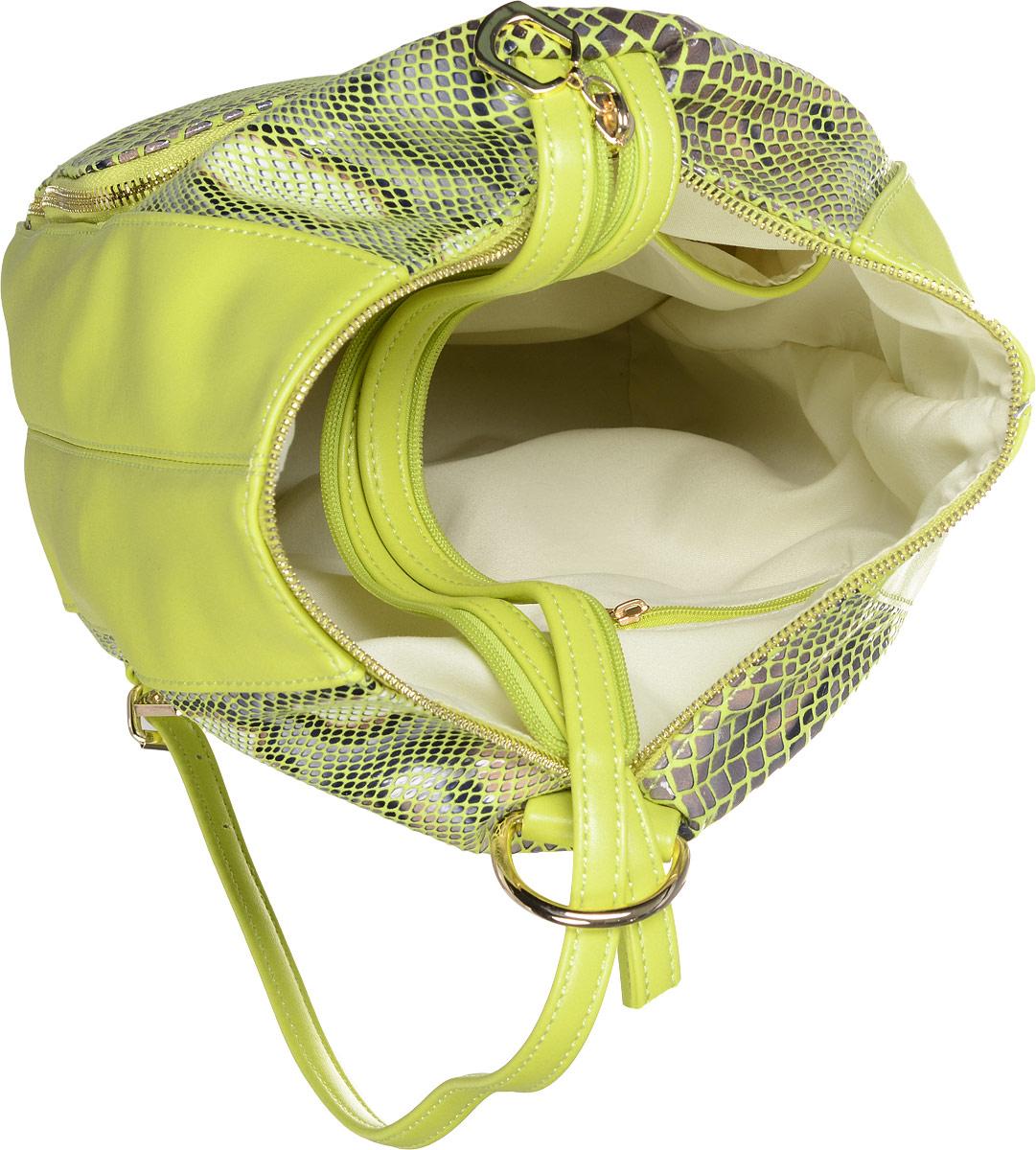 Рюкзак женский Vitacci, цвет: желтый. 13975-5