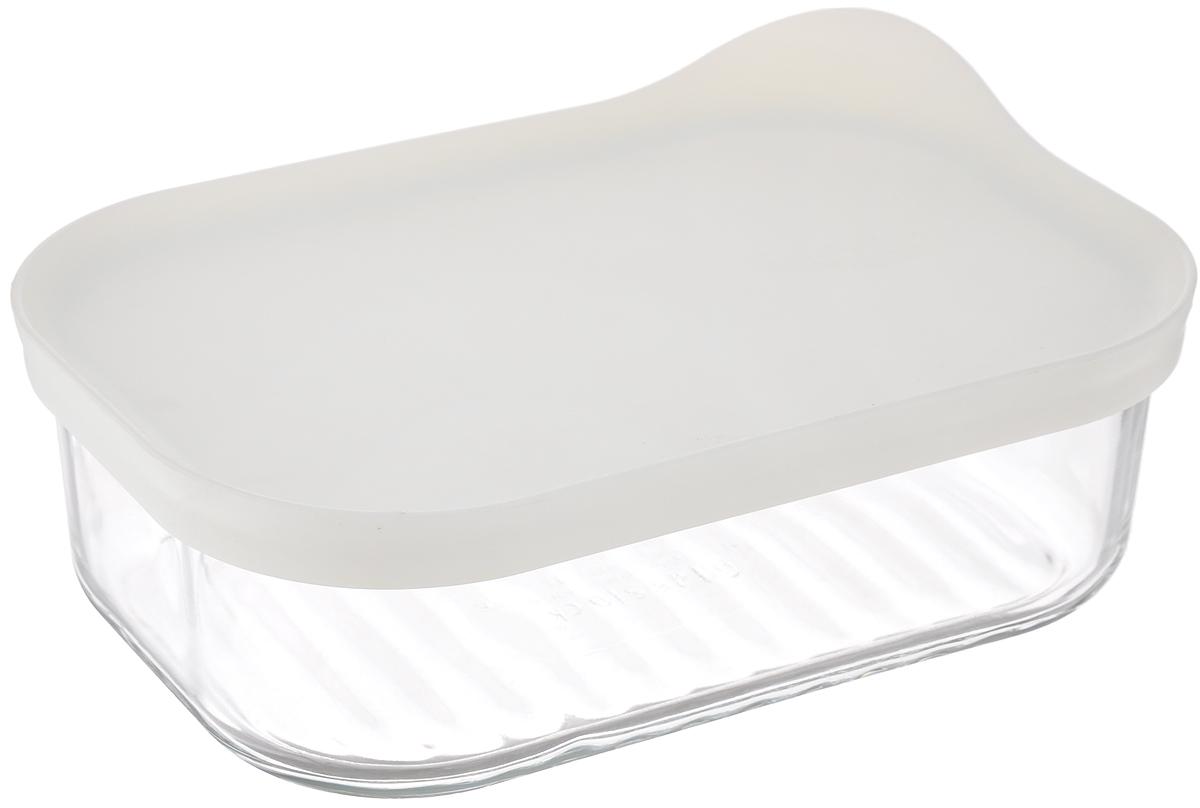 Контейнер Glasslock, прямоугольный, цвет: прозрачный, белый, 480 млRGT-12W (MCRB 048F)Контейнер для хранения Glasslock изготовлен из высококачественного закаленного ударопрочного стекла. Герметичная пластиковая крышка надолго сохраняет свежесть продуктов. Подходит для мытья в посудомоечной машине, хранения в холодильных и морозильных камерах, использования в микроволновых печах. Стеклянная посуда нового поколения от Glasslock экологична, не содержит токсичных и ядовитых материалов; превосходная герметичность позволяет сохранять свежесть продуктов; покрытие не впитывает запах продуктов; имеет утонченный европейский дизайн - прекрасное украшение стола. Размер контейнера по верхнему краю: 15,5 х 10,5 см. Высота контейнера (с учетом крышки): 6 см.