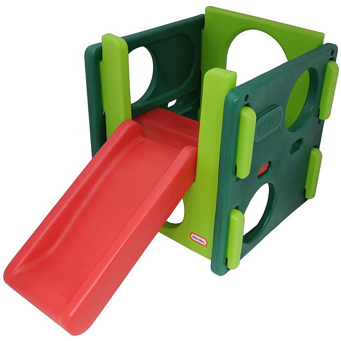 Little Tikes Игровой комплекс447AКрасивая и яркая мультигорка Little Tikes обеспечит вашему ребенку массу положительных эмоций во время катания. Горка изготовлена из прочного и безопасного пластика и может устанавливаться как дома, так и на улице. Мультигорка имеет три стенки с круглыми вырезами, через которые малыш сможет ползать. Она легко складывается и не занимает много места. Порадуйте своего малыша и его друзей таким замечательным подарком!