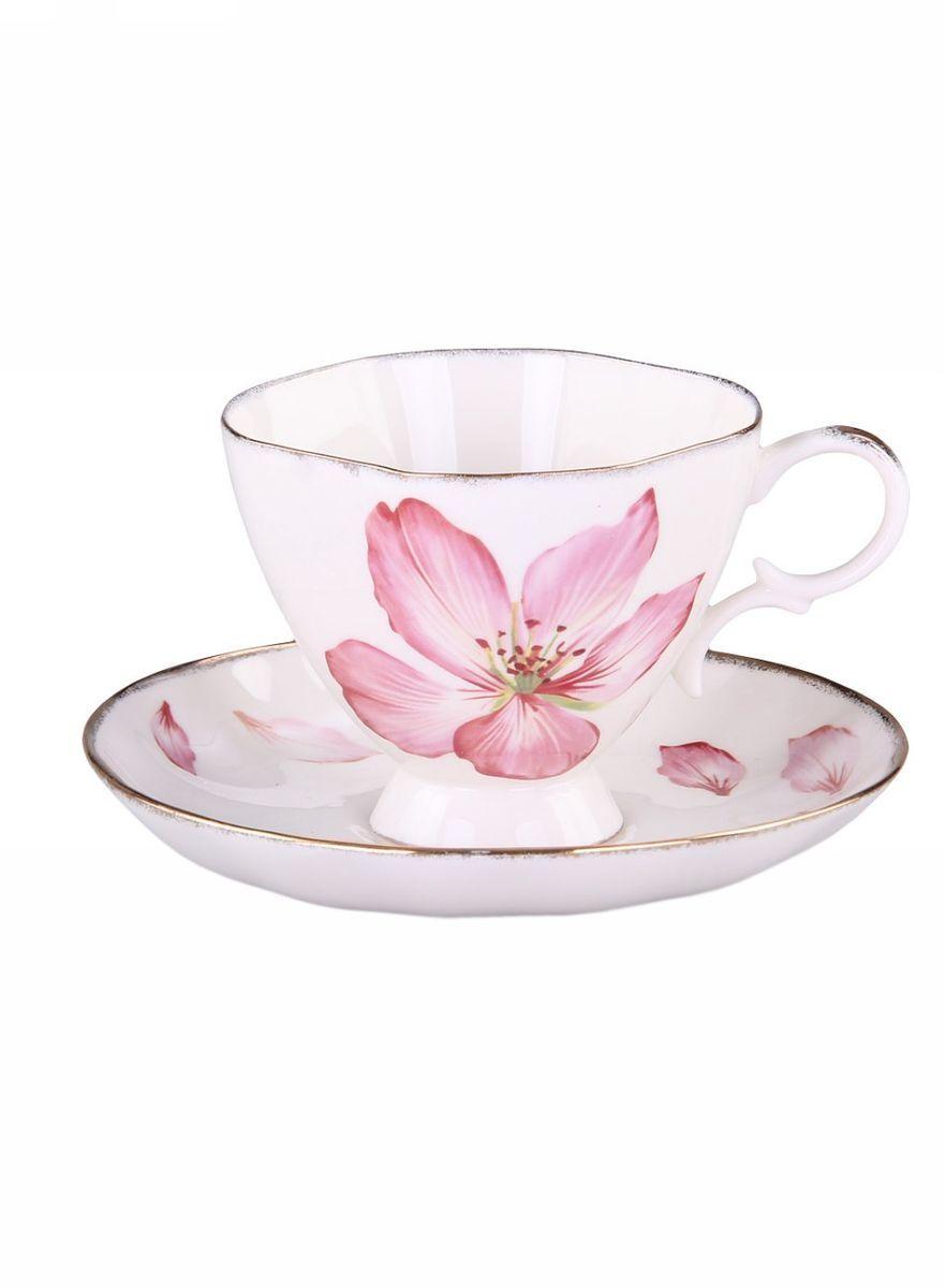 Набор чайный 2 предмета 220мл PATRICIAIM04-0112Чайный набор выполнен из керамики высшего качества ,украшен цветочным принтом . Такое изделие станет отличным подарком для ваших близких людей в любой праздник.
