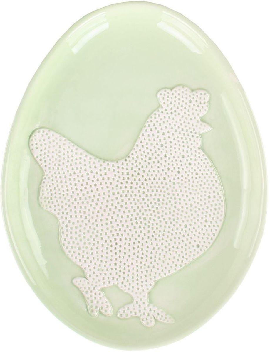 Блюдо 25*19*3 см PATRICIAIM16-0210Блюдо выполнено из керамики. В светлый праздник Пасхи,оно станет украшением вашего стола.