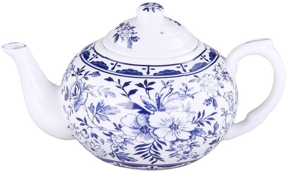 Чайник с металлическим фильтром Patricia, 400 млIM56-0203Чайник с металлическим фильтром выполнен из фарфора высшего качества. Изделие украшено цветочным принтом. С таким заварочным чайником чаепитие станет вдвойне приятнее.