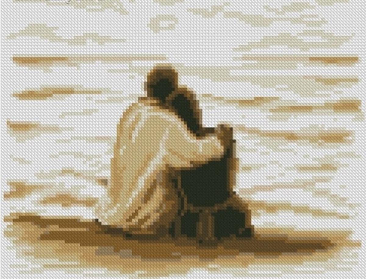 Набор для изготовления картины со стразами Алмазная Живопись На берегу моря, 30 х 25 см494478В состав набора входит: полотно-схема с клеевым слоем, с условными обозначениями, инструкция, пластиковое блюдце, пинцет, упакованные стразы.