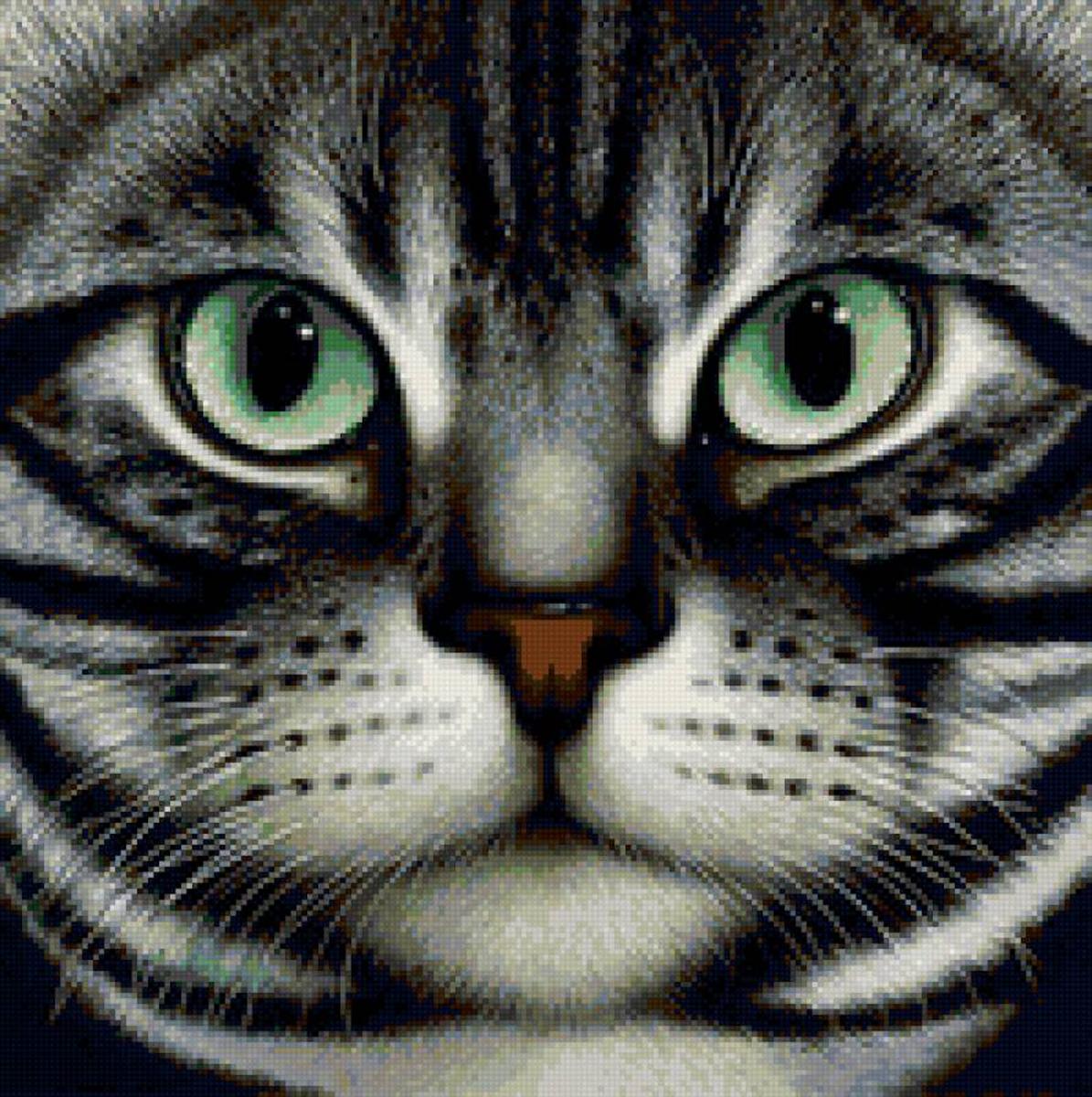 Набор для изготовления картины со стразами Алмазная Живопись Мордочка кота, 26 х 25 см581716В состав набора входит: полотно-схема с клеевым слоем, с условными обозначениями, инструкция, пластиковое блюдце, пинцет, упакованные стразы.