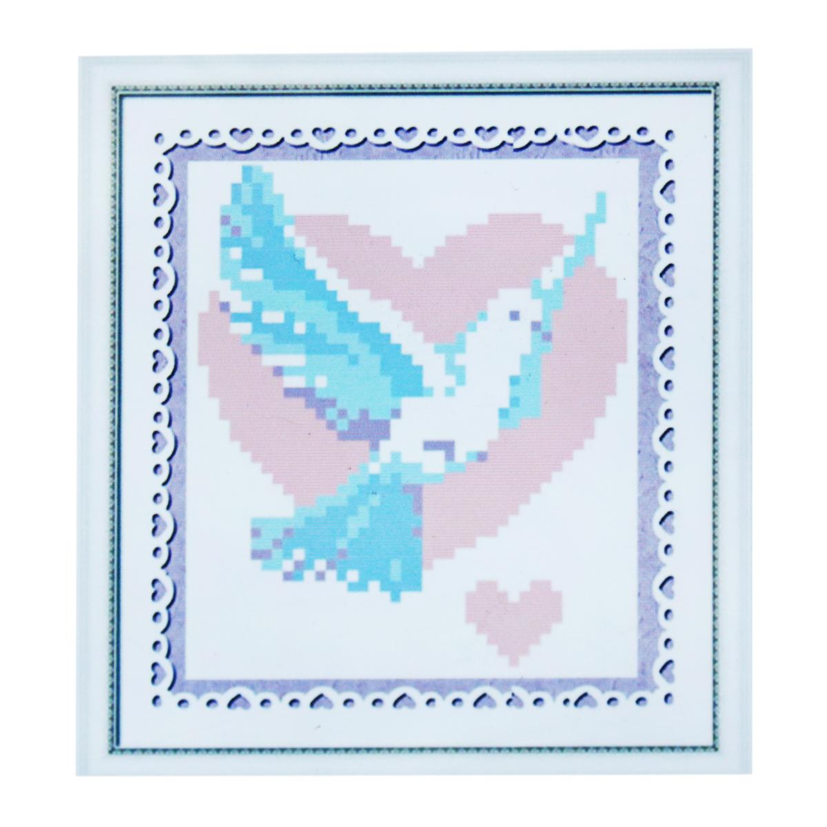 Набор для изготовления картины со стразами Cristal, 13 х 15 см7714744