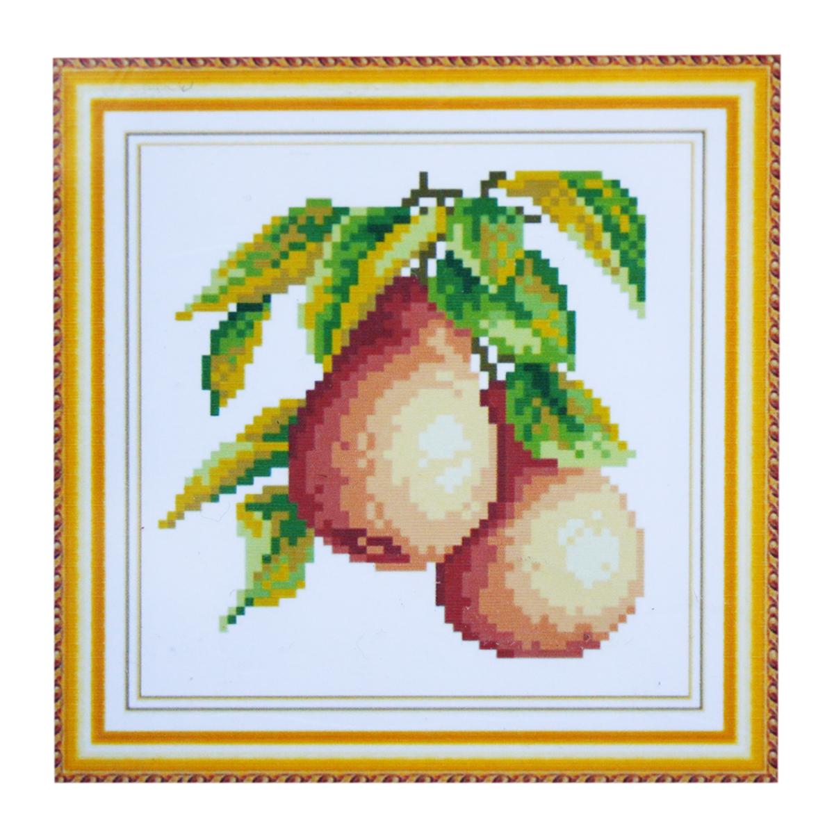 Набор для изготовления картины со стразами Cristal, 18 х 18 см. 77147497714749