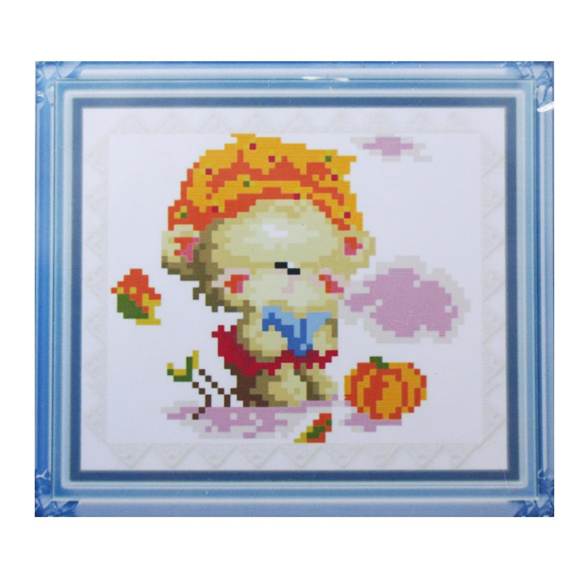 Набор для изготовления картины со стразами Cristal, 15 х 13 см. 77147547714754