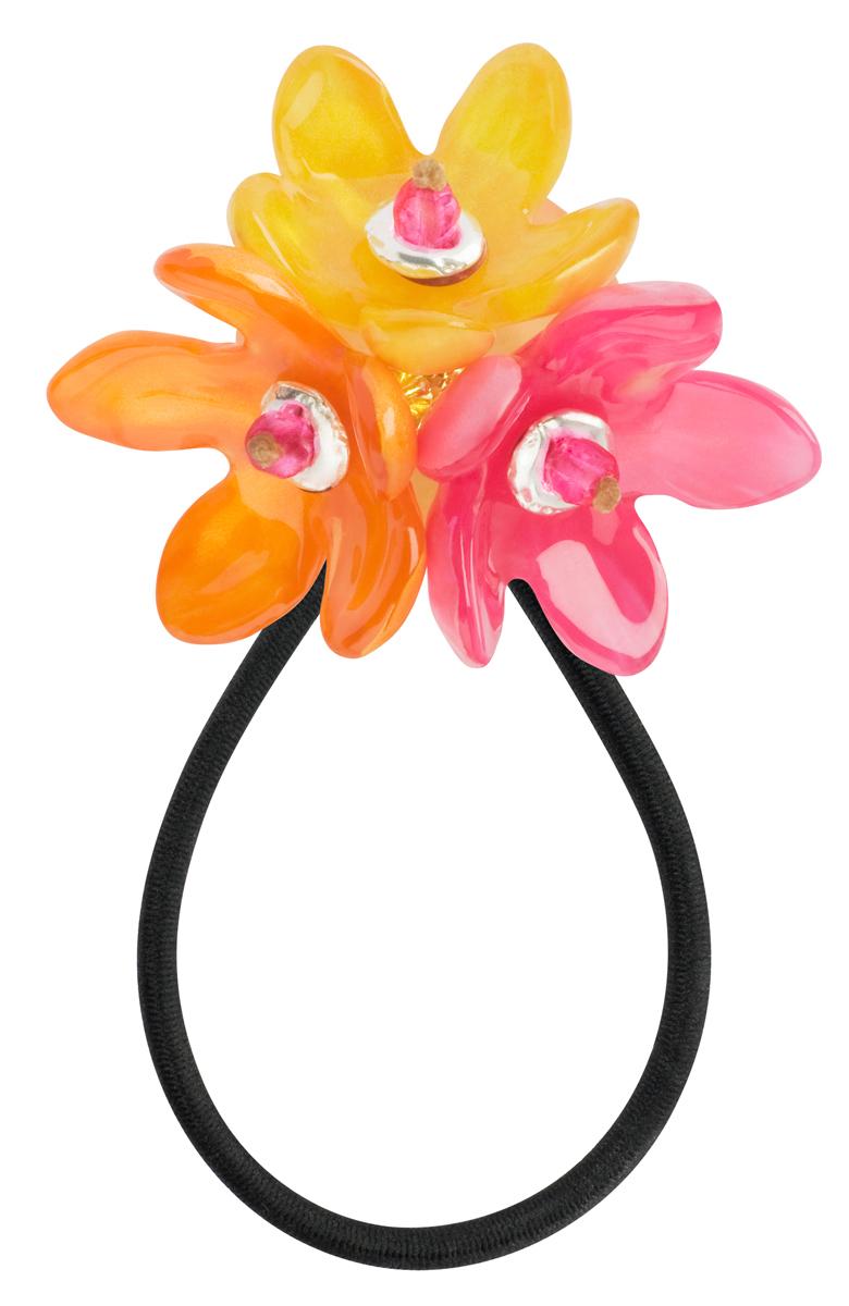 Резинка для волос Lalo Treasures ROW, цвет: оранжевый. HB4581HB4581Яркие дизайнерские акссесуары от Lalo Treasures станут отличным дополнением к Вашему стилю
