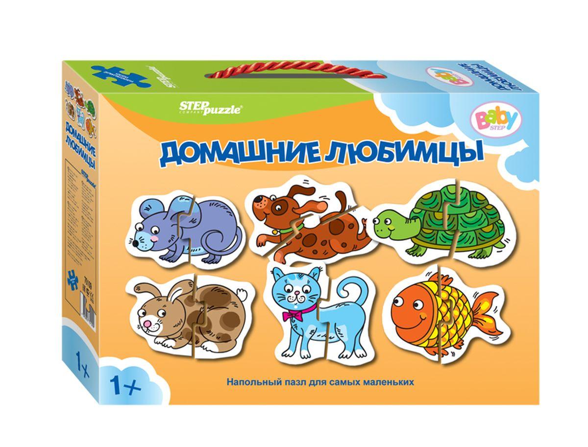 Step Puzzle Напольный пазл Мозаика Домашние любимцы70109Напольный пазл-увлекательная и познавательная игра для малышей. Развивают координацию общих движений, сенсорные навыки, внимание и ассоциативное мышление.