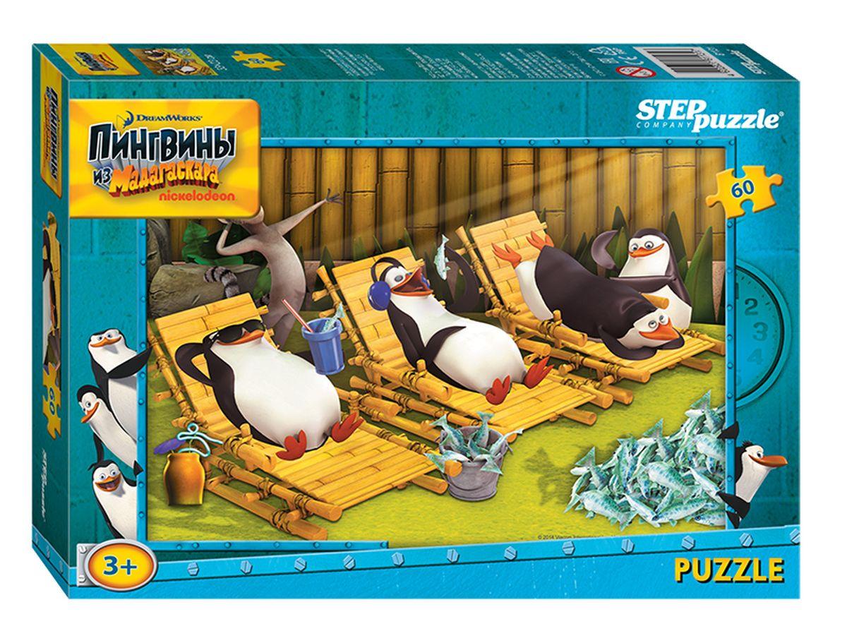 Step Puzzle Мозаика Пингвины из Мадагаскара