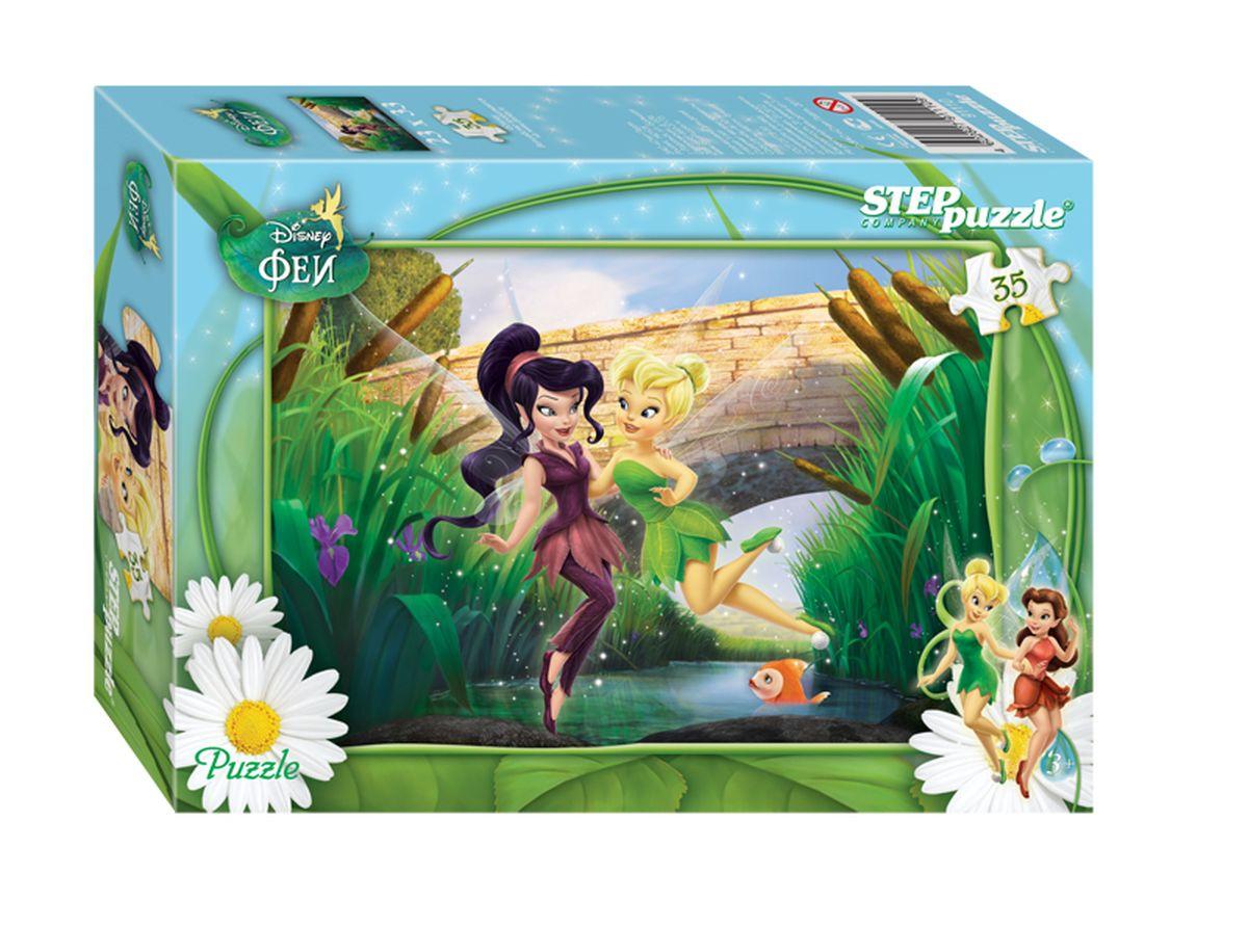 Step Puzzle Мозаика Феи91110Добро пожаловать в волшебный мир, населенный очаровательными обитательницами Долины Фей. Это чудесное место, наполненное мифами, магией и волшебством. Долина Фей – это целое королевство, каждый житель которого обладает своим, необыкновенным талантам, а все вместе Феи выполняют очень важную работу – они заботятся о природе и помогают временам года сменять друг друга: помогают листьям менять цвет, солнечным лучам – растапливать снег, зверям, оставшимся на зимнюю спячку – выбираться из своих нор и берлог.