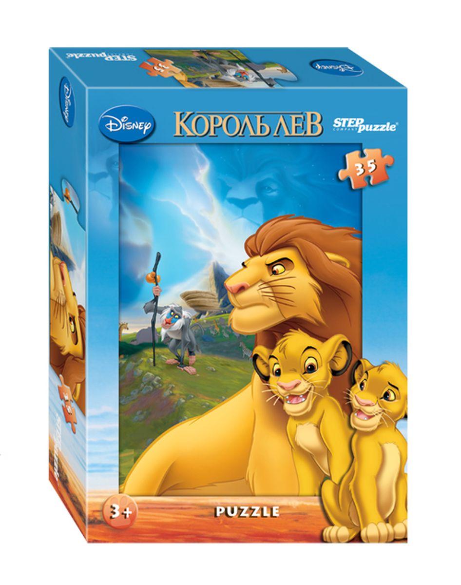 Step Puzzle Мозаика Король Лев91114Одна из смых знаменитых историй Disney о необыкновенных приключениях львенка Симбы, наследника повелителя саванны Муфасы. Коварно лишенный трона вероломным дядей Шрамом, принц Симба бежал в изгнание. Но в положенный час, Симба вернулся. Вернулся, чтобы свергнуть самозванца и стать тем, кем ему предназначено судьбой — могучим, мудрым и бесстрашным Королем Львом.