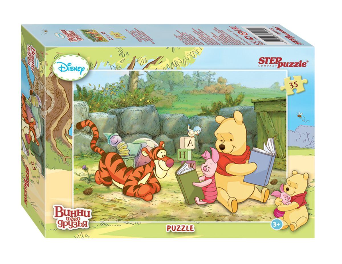 Step Puzzle Мозаика Медвежонок Винни91115Disney снова приглашает в Большой лес, где Вас ждет новая долгожданная встреча с Винни Пухом и его друзьями. Пазлы с сюжетами о новых приключениях медвежонка Винни, выполнены в классическом стиле знаменитых мультфильмов Disney.