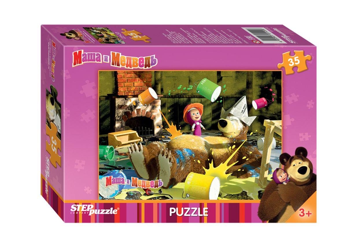 Step Puzzle Мозаика Маша и Медведь91120Озорная Маша и добрый Медведь приглашают принять участие в волшебных приключениях. Собирайте пазлы с любимыми героями популярного мультфильма.
